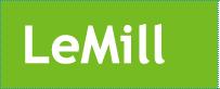 LeMill logo, green
